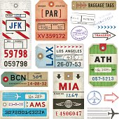 istock Baggage Tags and Stamps 178941647