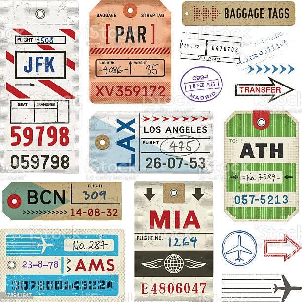 Baggage tags and stamps vector id178941647?b=1&k=6&m=178941647&s=612x612&h=2aytewkniadt4g6qfbb  vaf kk0rfl5qqj7esbnn9a=