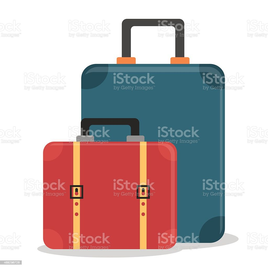 Bags design. vector art illustration