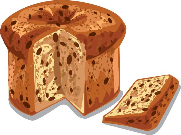 Best Fruitcake Illustrations Royalty Free Vector Graphics