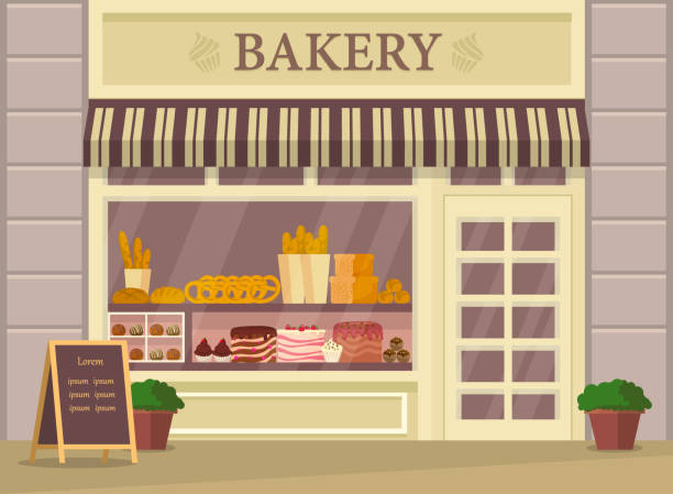 Cake Stall Illustrations, Royalty-Free Vector Graphics ... (612 x 449 Pixel)
