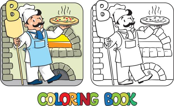 eating the alphabet coloring pages - photo#43