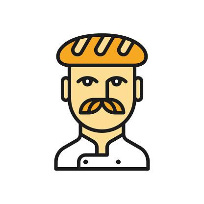 Baker line icon