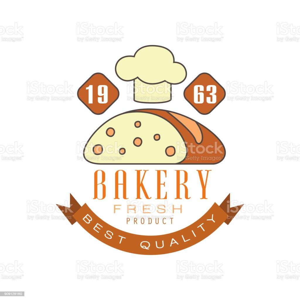 Bäckerei Bester Qualität Estd 1963 Vorlage Brot Shop Abzeichen ...