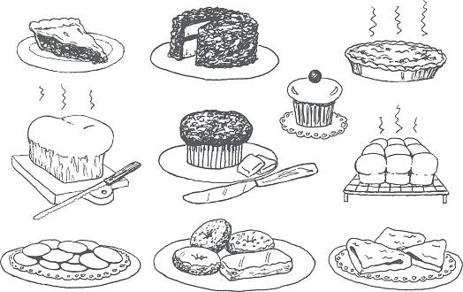 Bakery Doodles