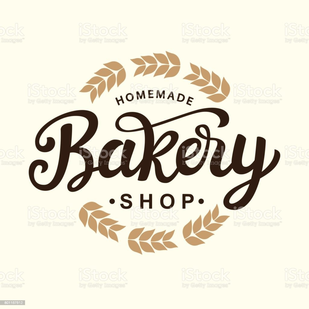 Bakery emblem template design vector art illustration
