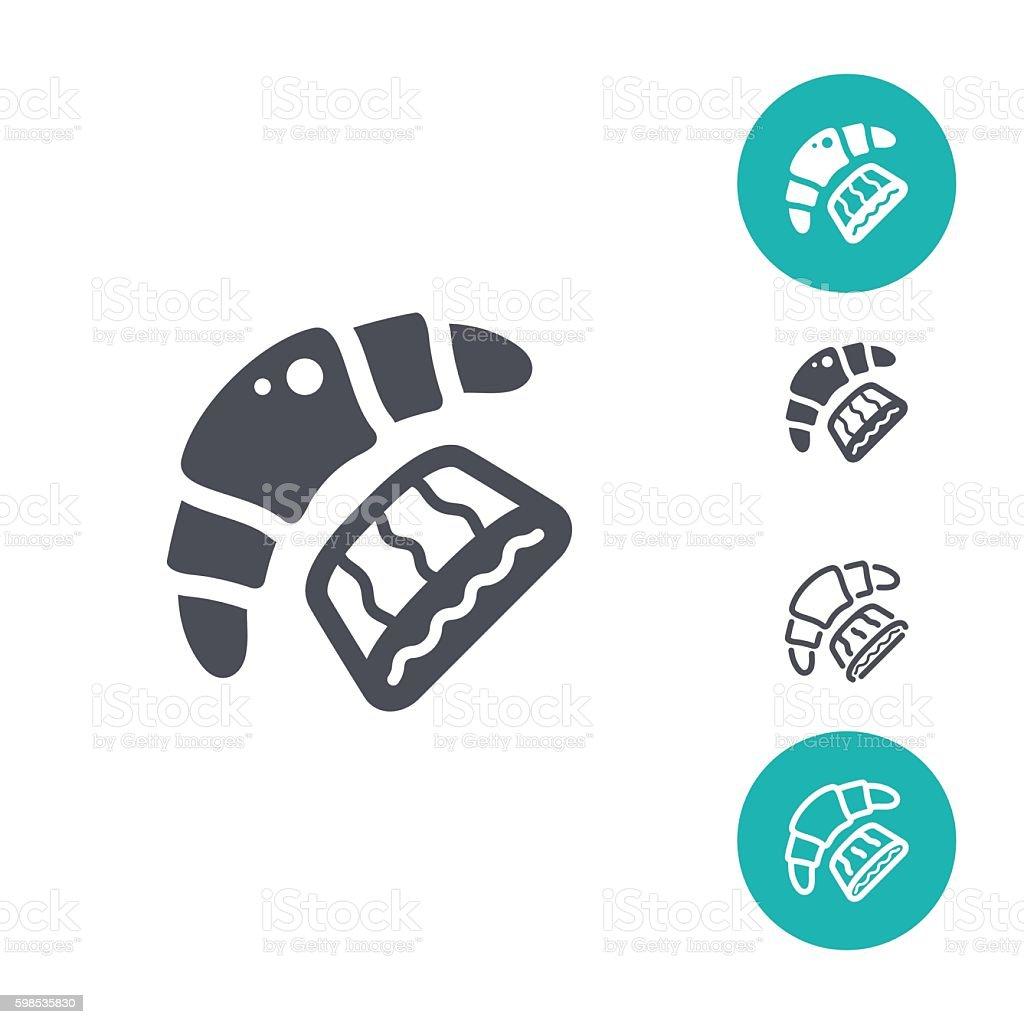 Boulangerie Ensemble d'icônes boulangerie ensemble dicônes – cliparts vectoriels et plus d'images de aliment libre de droits