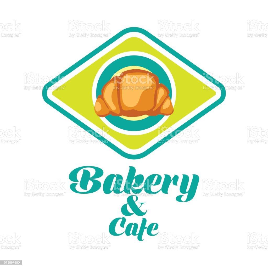 bakery icon with text space for your slogan / tagline, vector illustration bakery icon with text space for your slogan tagline vector illustration - arte vetorial de stock e mais imagens de assado no forno royalty-free