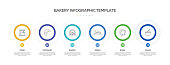 istock Bakery Related Process Infographic Template. Process Timeline Chart. Workflow Layout with Linear Icons 1331296374
