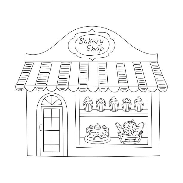 Best Bakery Shop Illustrations, Royalty-Free Vector ...