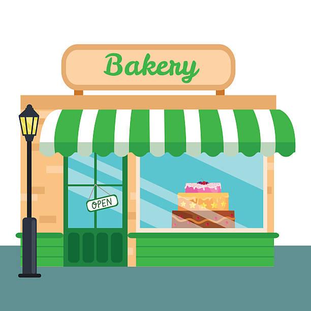 Best Bakery Shop Illustrations, Royalty-Free Vector ...