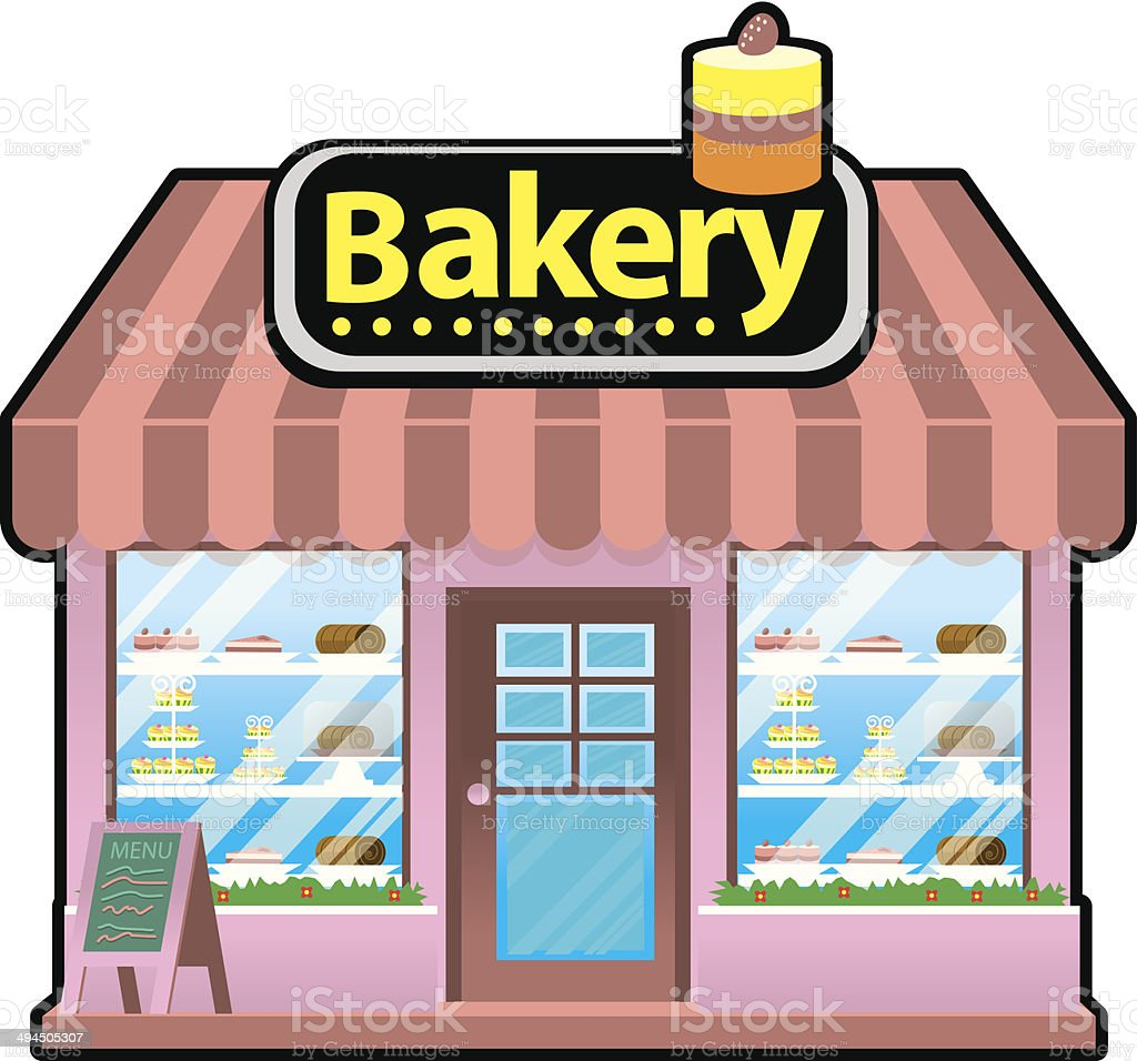 bakery shop stock vector art more images of awning 494505307 istock rh istockphoto com bakery clipart png bakers clip art