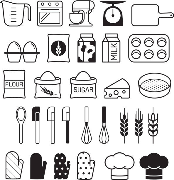 Best Baking Illustrations Royalty Free Vector Graphics