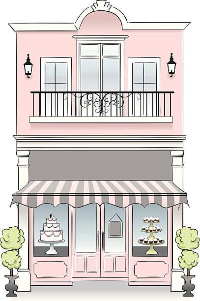 Bakery vector art illustration