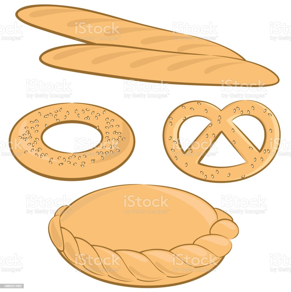 Bakery royalty-free bakery stock vector art & more images of 7-grain bread