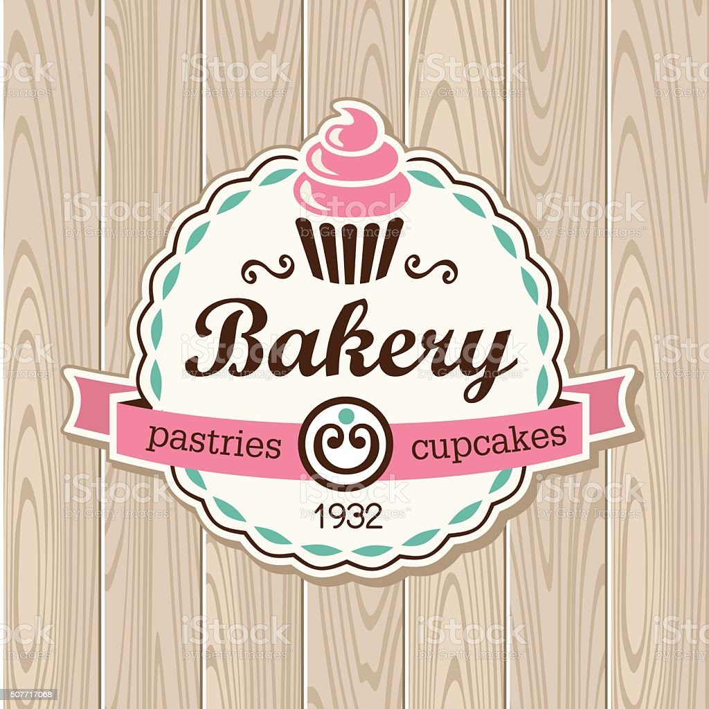 bakery vector art illustration