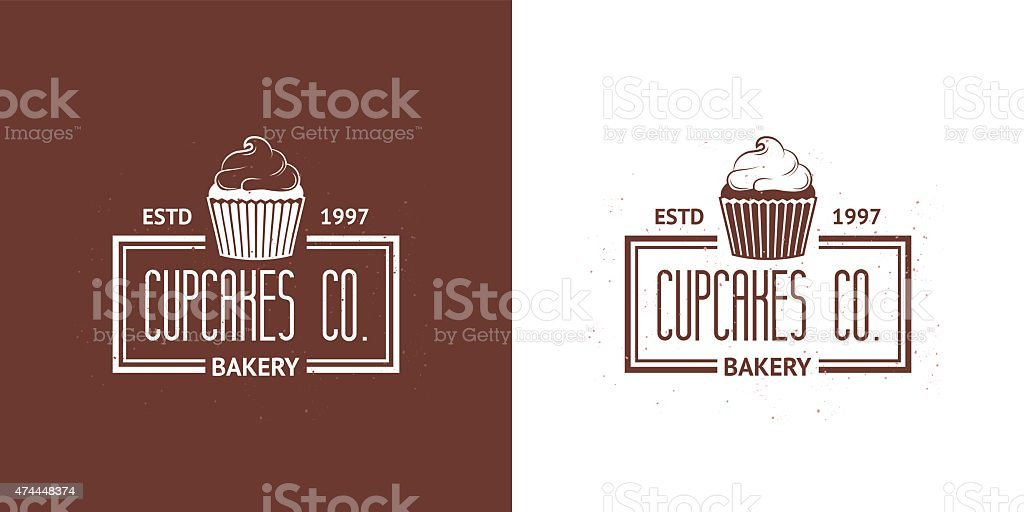 Bakery Vector Vintage Logos vector art illustration