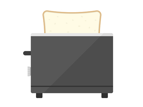 Baking bread with a toaster.