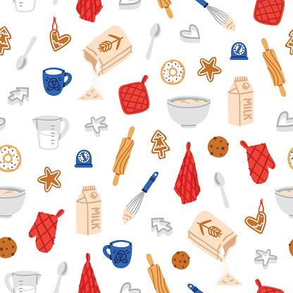 Baking cookies pattern