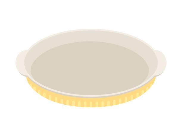 Baking dish Baking dish serving dish stock illustrations