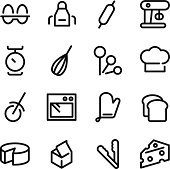 Vector file of Baking Icons