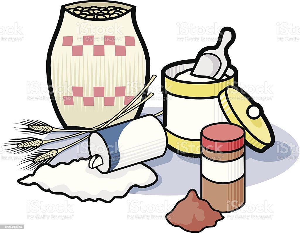 Baking Ingredients Clipart Baking Ingredie...