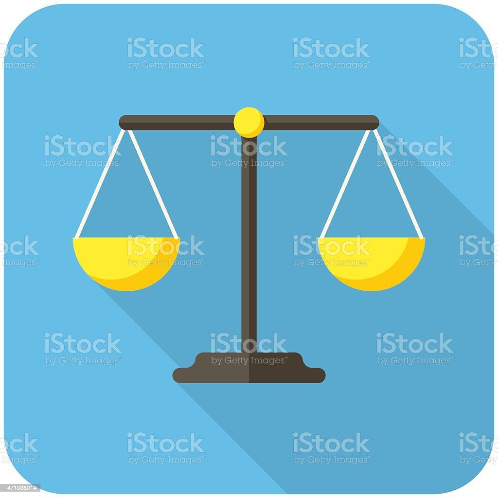 Gleichgewicht-Symbol – Vektorgrafik
