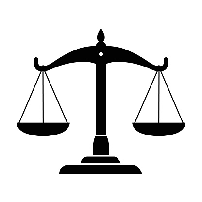 Balance scale of justice Icon