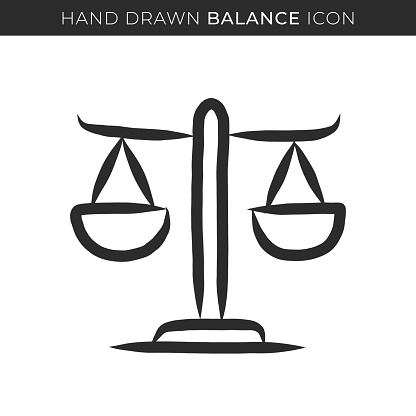 Balance Single Line Icon