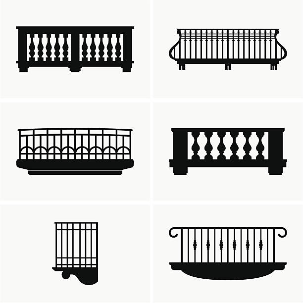 Royalty free balcony clip art vector images for Balcony clipart