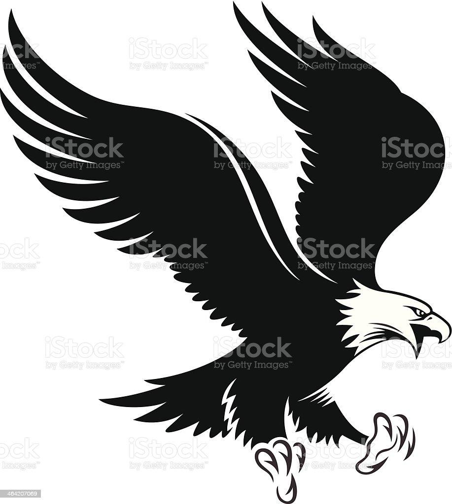 Ilustración de Águila De Cabeza Blanca y más banco de imágenes de ...