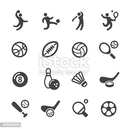 Ball Games Icons