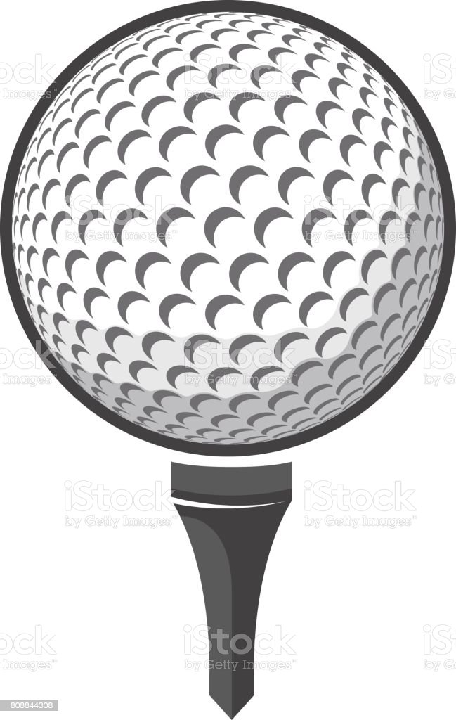 ball golf vector stock vector art more images of ball 808844308 rh istockphoto com golf victoria bc golf factory newcastle