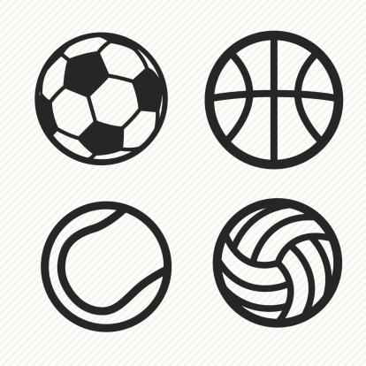 ball icons set.