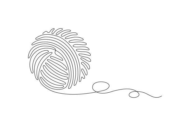 206 Tangled Yarn Illustrations Royalty Free Vector Graphics Clip Art Istock