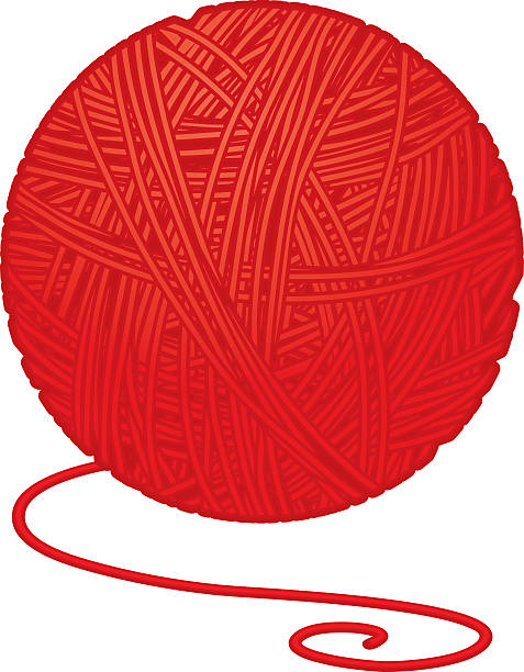 Royalty Free Ball Of Wool Clip Art, Vector Images ...