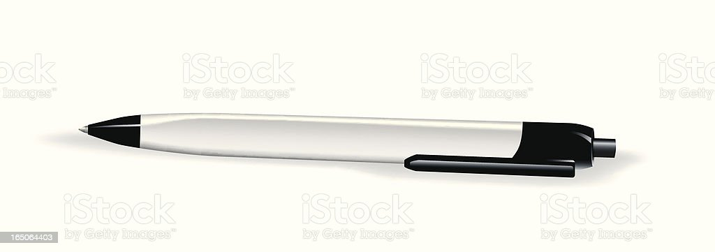 Ball Point Pen royalty-free stock vector art