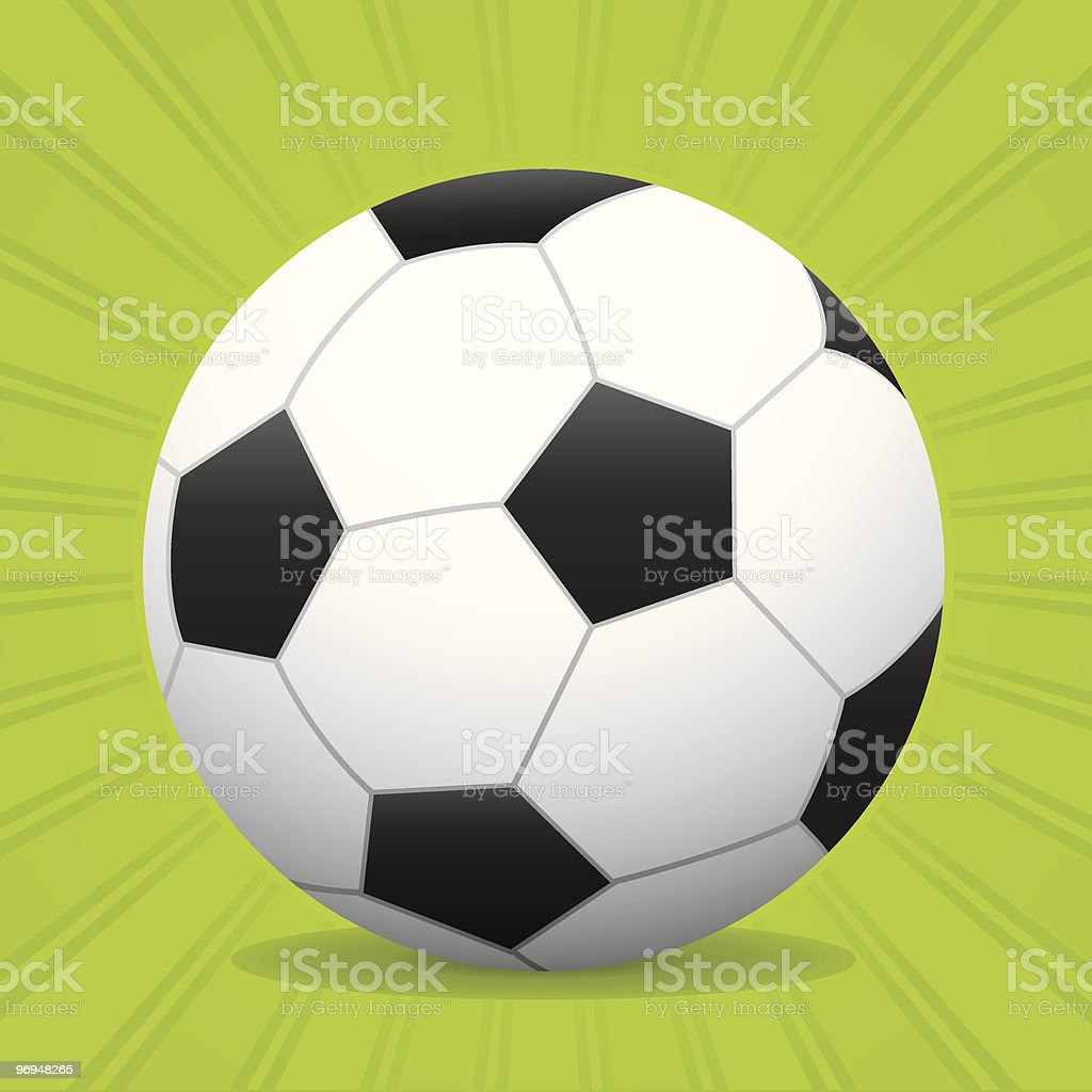 Ball soccer royalty-free ball soccer stock vector art & more images of art and craft