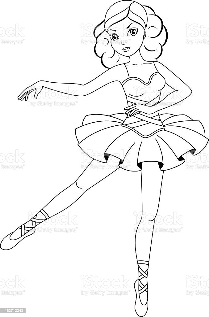 Free Printable Ballet Coloring Pages For Kids | 1024x677