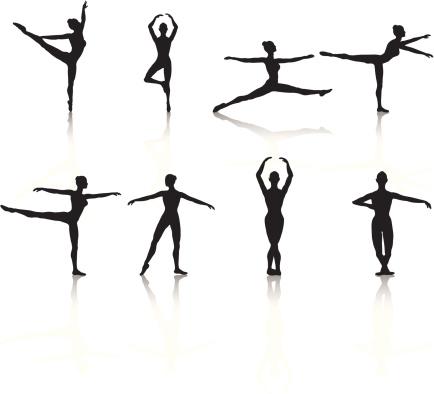 Ballerina Silhouette Collection