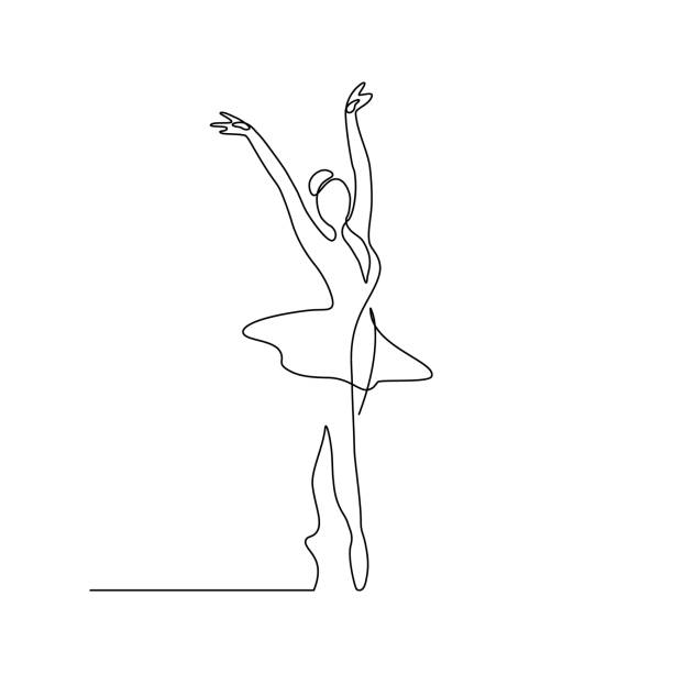 illustrations, cliparts, dessins animés et icônes de ballerine - danser