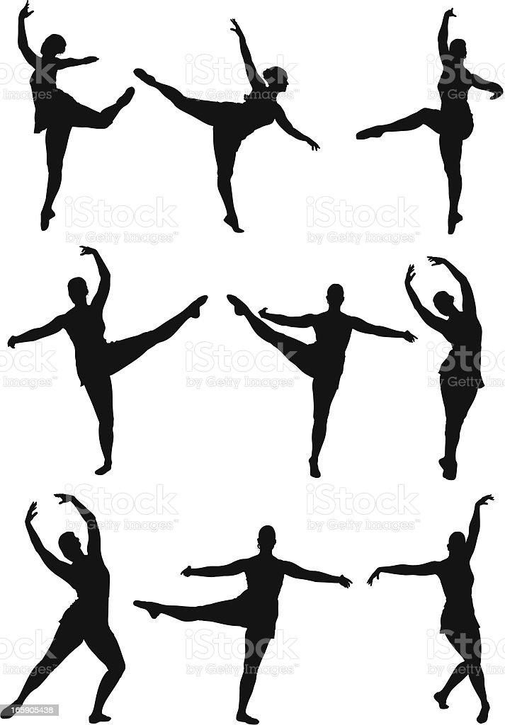 Ballerina royalty-free ballerina stock vector art & more images of activity