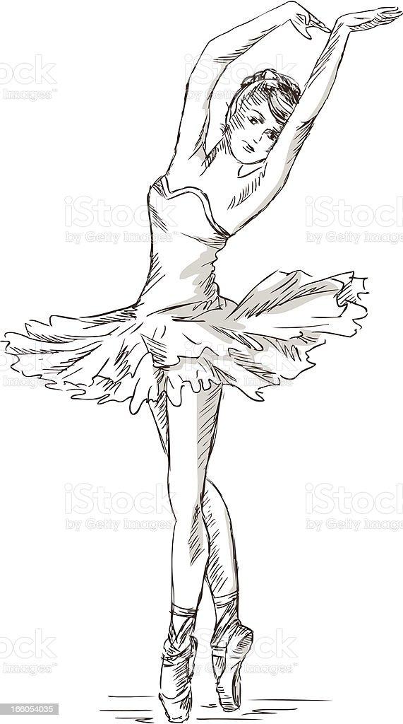 Ballerina royalty-free ballerina stock vector art & more images of adult