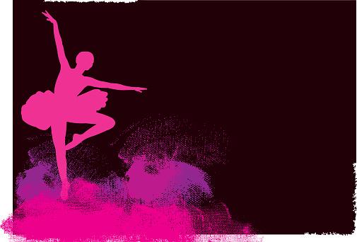 Ballet Dancer Background