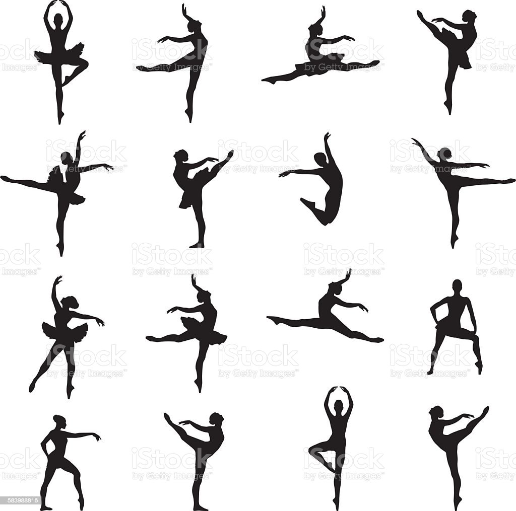 royalty free ballet dancer clip art vector images illustrations rh istockphoto com