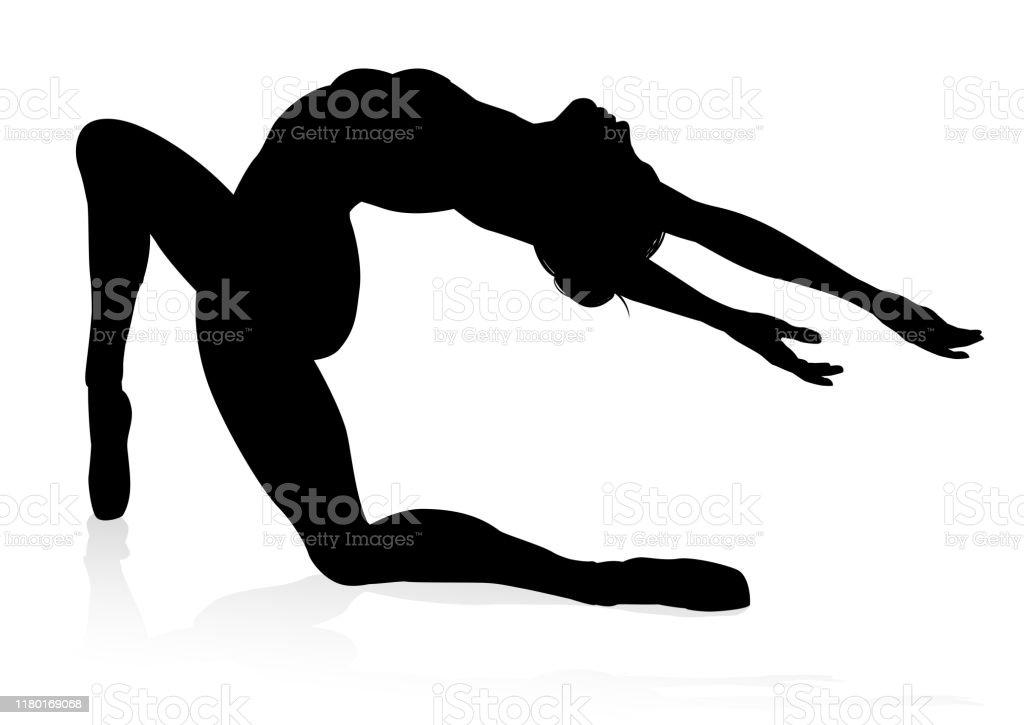 Ballet Dancer Silhouette Set Stock Illustration Download Image Now Istock