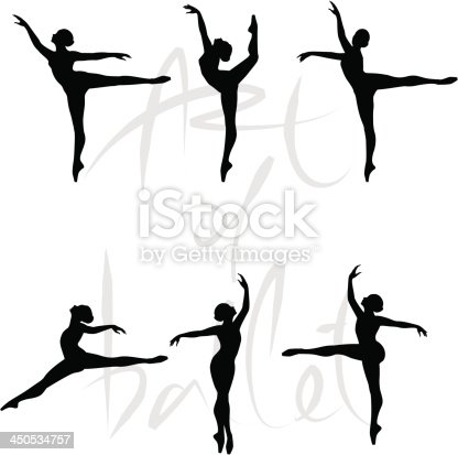 Dancer performs the dance