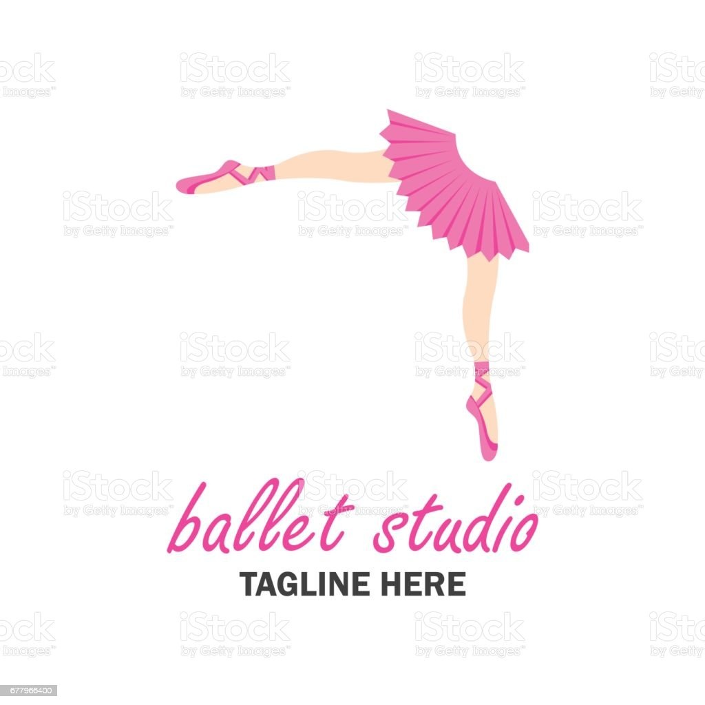 ballet icon for ballet school, dance studio. vector illustration royalty-free ballet icon for ballet school dance studio vector illustration stock vector art & more images of adult