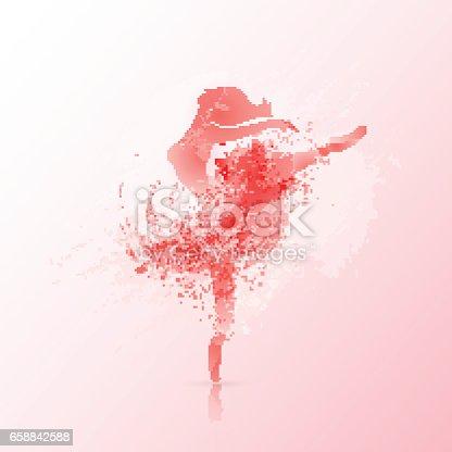 istock Ballet poster design 658842588