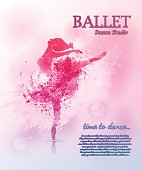 istock Ballet poster design 658842674
